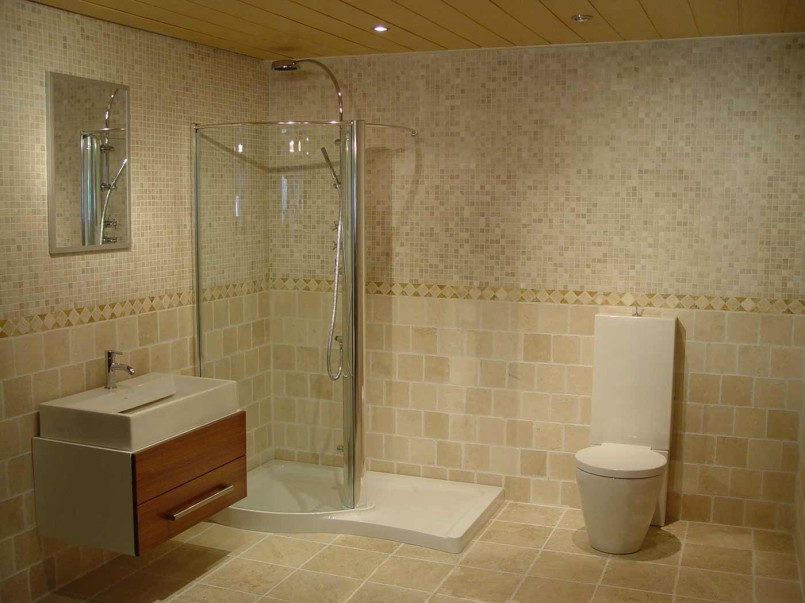 Installation Shower Tiles